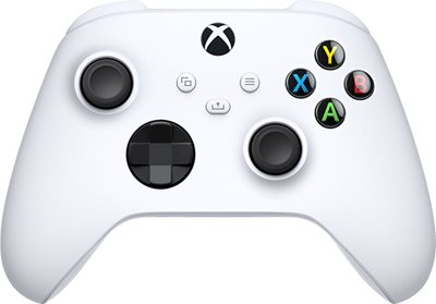 XBOX SERIES X/S WIRELESS CONTROLLER ROBOTIC WHITE יבואן רשמי