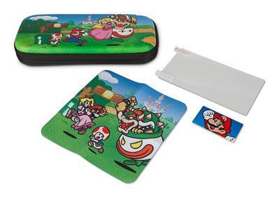 PowerA Stealth Case Kit for Nintendo Switch Lite - Mushroom Kingdom יבואן רשמי תור גיימינג