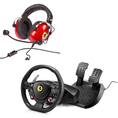 הבאנדל המושלם FERRARI HEADSET + T80 WHEEL יבואן רשמי בנדא מגנטיק