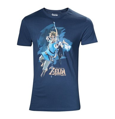 T-shirts-The-Legend-of-Zelda-NINTENDO-Legendo-of-Zelda--Breath-of-the-Wild