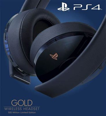 ps gold headset 500 million
